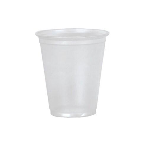 Medline Plastic 3.5-oz Translucent Cup (Case of 2,500)