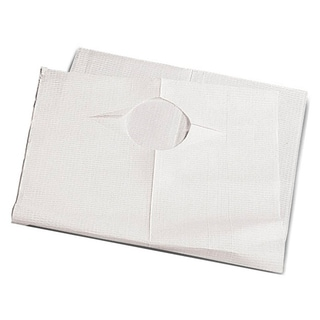 Medline Slip-on 19-inch x 35-inch Tissue/ Poly Bibs (Case of 150)