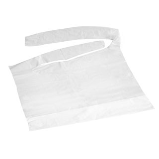 Medline Crumb Catcher 16 inch x 24 inch Plastic Bib (Case of 500)