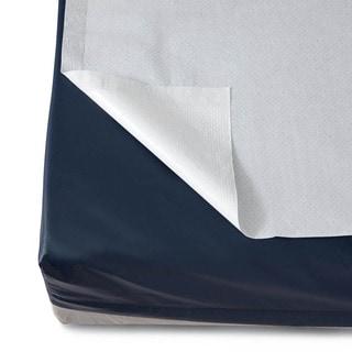Medline Disposable White Bed Sheets (Case of 25)