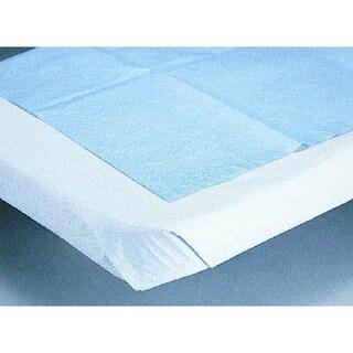 Medline Pillowcase, Tissue/Poly, White (Case of 100)