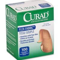 CURAD Flex-Fabric Adhesive Bandages (Case of 1200)