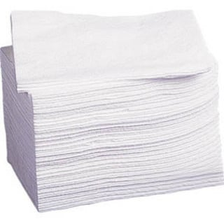Medline Hydroknit Disposable Washcloth - White (Case of 500) (Option: White)