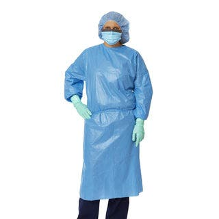 Medline Isolation Gown Cuff Impervious Reg (Pack of 50) https://ak1.ostkcdn.com/images/products/1930838/P10250147.jpg?impolicy=medium