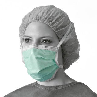Medline Anti-Fog Film Strip Surgical Face Mask (Pack of 300)
