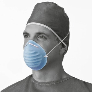 Medline Face Mask Blue Cone Style (Pack of 300)