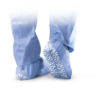 Medline Non-Skid Disposable Shoe Cover - Blue (Case of 300)