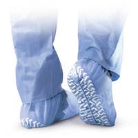Medline Blue Non-Skid X-Large Disposable Shoe Covers (Case of 200)