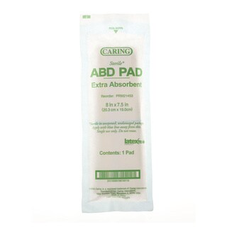 Medline Sterile 8 x 7.5-inch Abdominal Pad (bulk of 240)