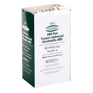 Medline Abdominal Pad 8x10-inch Sterile (Pack of 320)