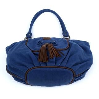 TSD Brand Bold Lotus Hobo Handbag