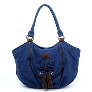 TSD Brand Bold Lotus Hobo Handbag (2 options available)