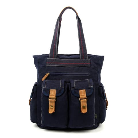 TSD Brand Oak Hill Canvas Tote Bag