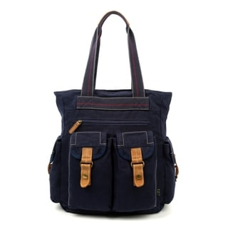 Link to TSD Brand Oak Hill Canvas Tote Bag Similar Items in Shop By Style