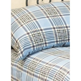 Cameron Alexander Menswear Inspired Plaid Sheet Set