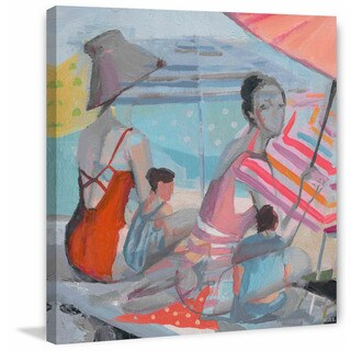 'In the Shade' Painting Print on Wrapped Canvas