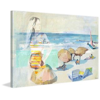 'Summer Days Remembered' Painting Print on Wrapped Canvas
