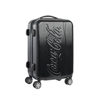 Ful Coca Cola 21-Inch Spinner Rolling Carry On Suitcase,