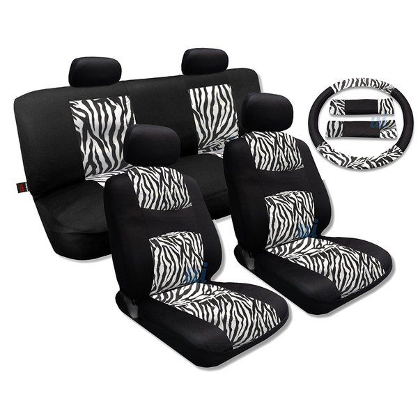 Remarkable Leather Black Yellow Seat Covers Headrests Steering Mazda Protege Lamtechconsult Wood Chair Design Ideas Lamtechconsultcom