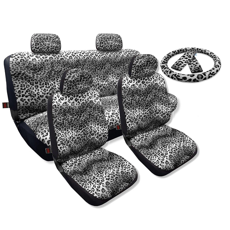 Unique Industries Seat Covers Sedan Set Front Pair Bench ...