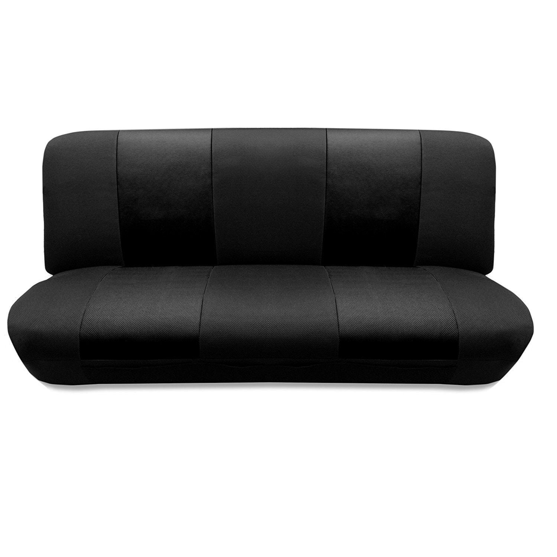 Unique Industries Tan/Black Two Tone Car Seat Cover Floor...