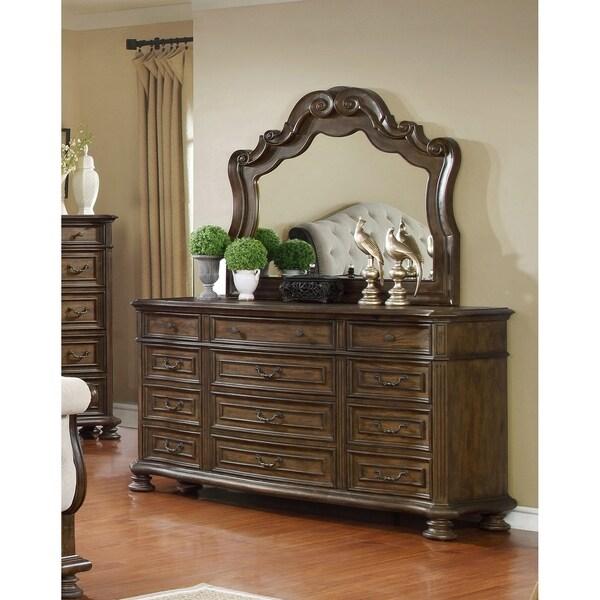 Shop Best Master Furniture Weathered Oak Sleigh: Shop Best Master Furniture Weathered Oak 2 Pieces Dresser