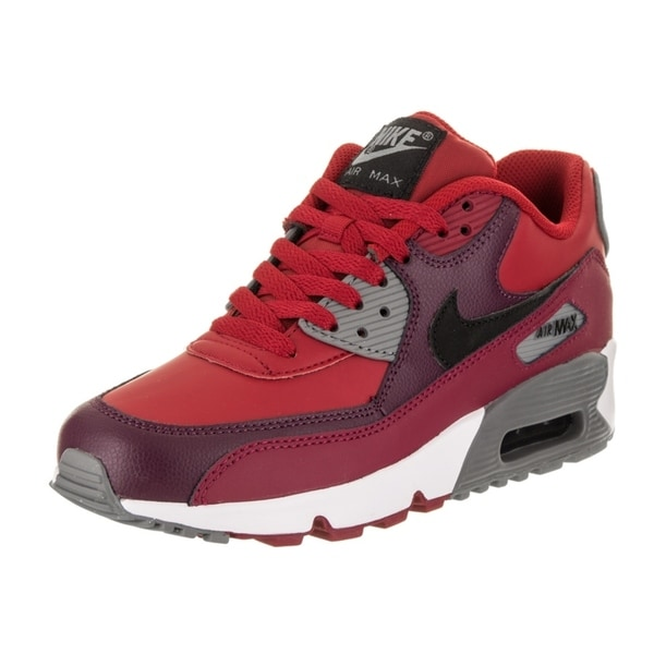 huge discount bd73a f8dbd Nike Kids Air Max 90 LTR (GS) Running Shoe