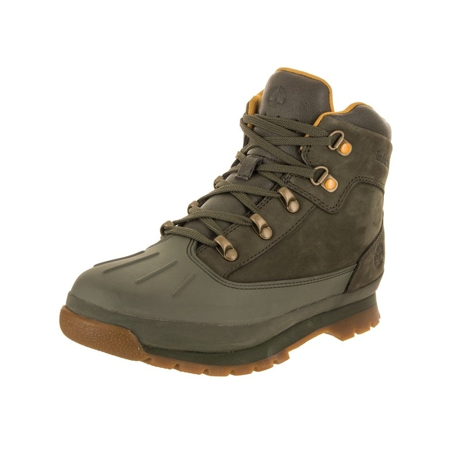 Timberland Kids Shell-Toe Euro Hiker Boot (6.5), Boy's, G...