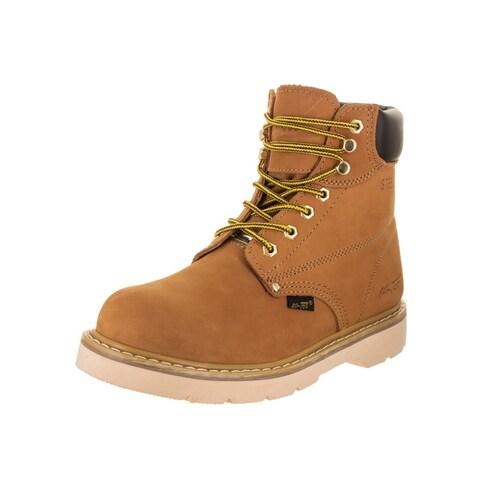 """AdTec Men's 6"""" Work Boot (Steel Toe) Boot"""