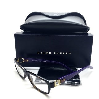 Ralph Lauren Purple Tortoise Men Eyeglasses RL 6106Q 5003 51 17 140