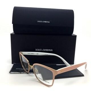 Dolce & Gabbana Peach Pale Gold Powder Women Eyeglasses DG1282 1291 53 17 140