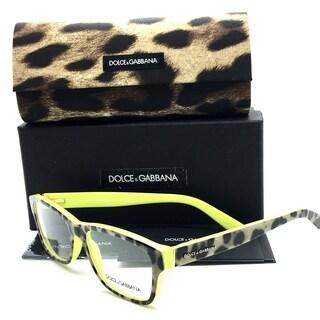 Dolce & Gabbana Tortoise Leopard Demo Lenses Women Eyeglasses DG3208 2861 54 17 140