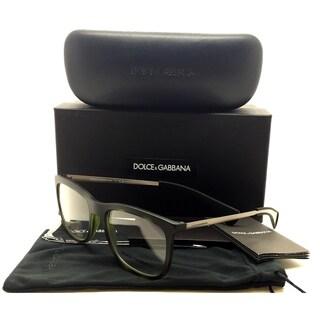 Dolce & Gabbana Authentic Green Matte Black Camouflage Eyeglasses DG5018 3014 53 18 150