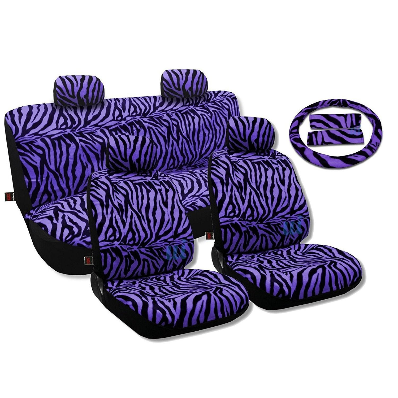 Unique Industries Seat Covers,Sedan Set Bench Steering Vi...