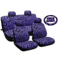 Seat Covers,Sedan Set Bench Steering Vivid Purple - Mazda  Protege5