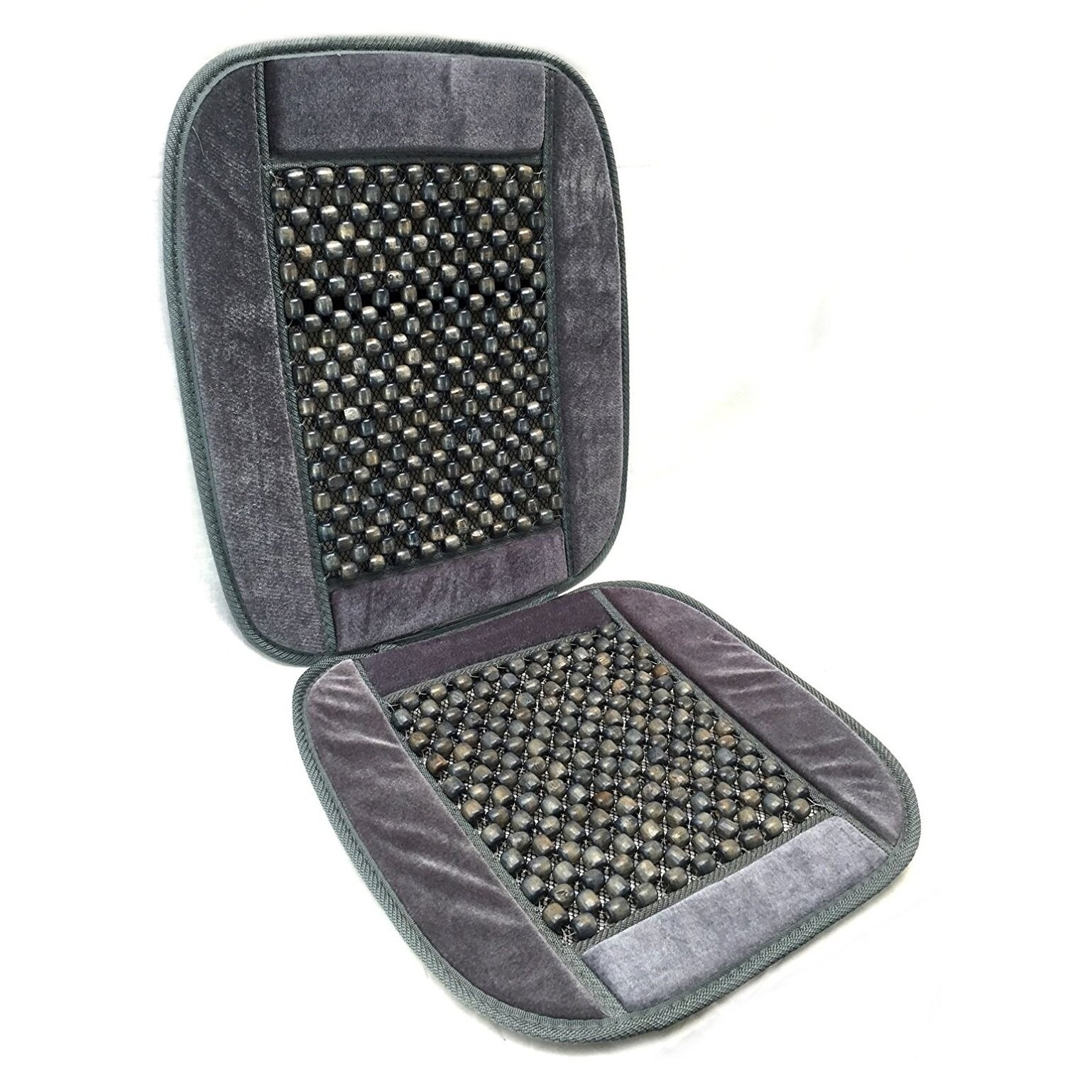 Unique Industries Bamboo Wooden Beaded Seat Cover Comfort...