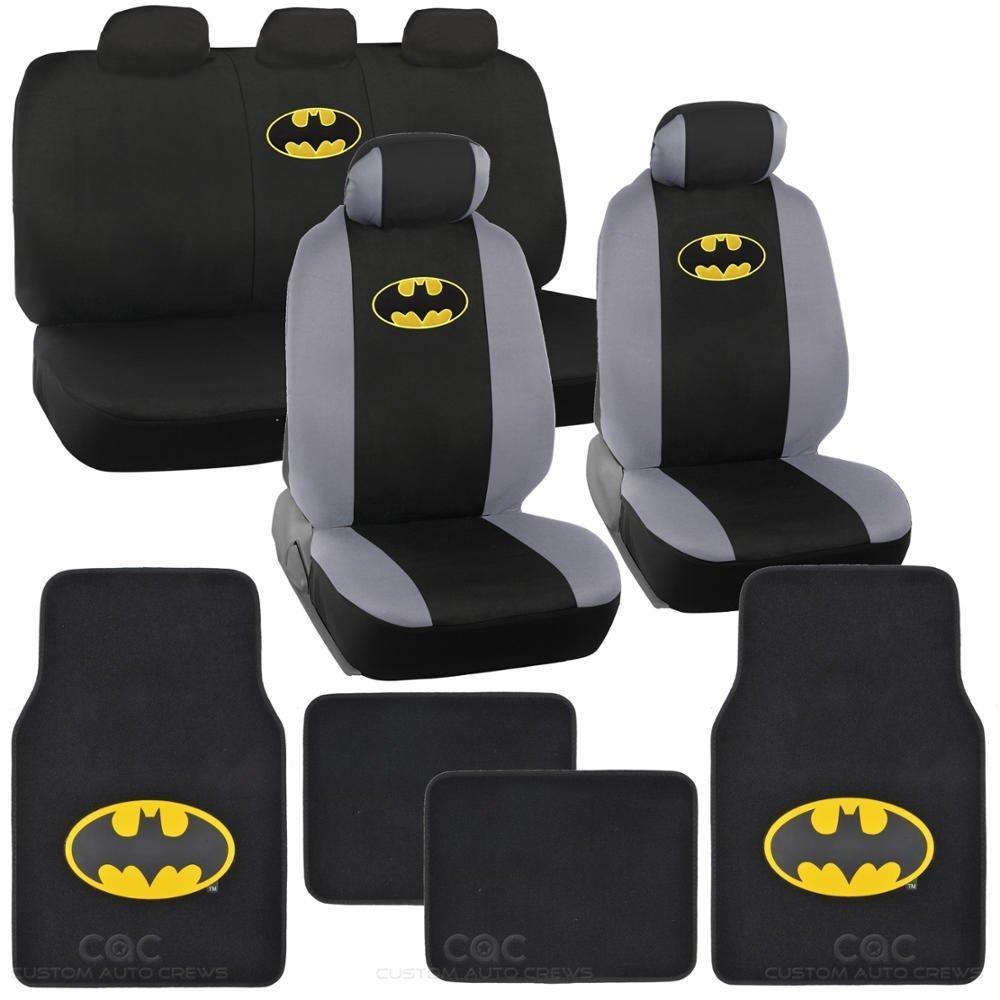 Unique Industries Batman Seat Cover & Mat for Car Warner ...