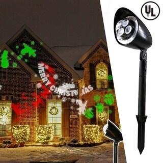 Christmas Festival ® LED Projector Light - Merry Christmas