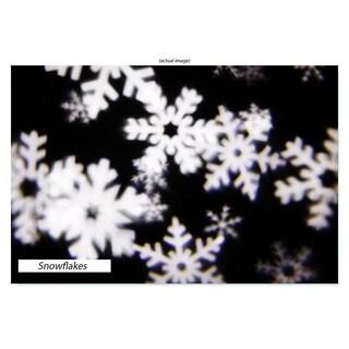 Christmas Festival ® Landscape Decor LED Light Shower Whirl-in-Motion Projector Light - Snowflake