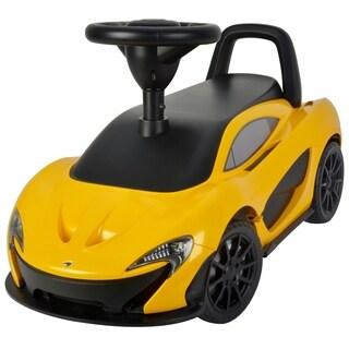McLaren Push Car Yellow