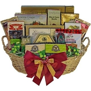 Grand Edition Gourmet Food and Snacks Gift Basket, Large - candy option - grand-edition-large