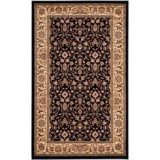 Safavieh Lyndhurst Traditional Oriental Black/Ivory Rug - 3'3 x 5'3
