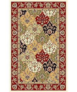 "Safavieh Lyndhurst Traditional Oriental Multicolor/ Red Rug (3'3"" x 5'3"")"