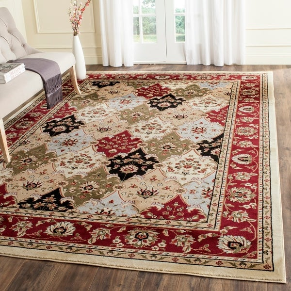 Safavieh Lyndhurst Traditional Oriental Multicolor/ Red Rug - 8' X 11'