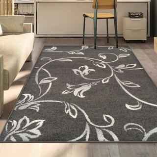 Superior Designer Vine Area Rug collection - 4' x 6'