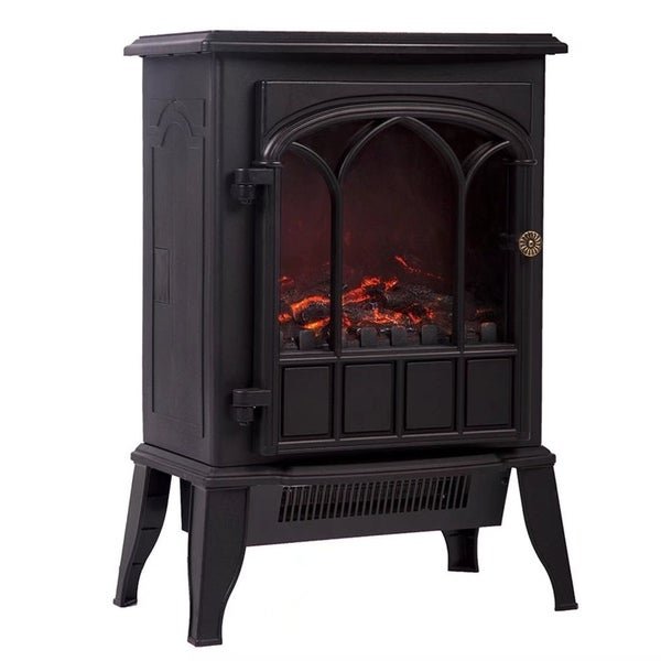 free hollis electric flame home white shipping fireplace l real overstock product w garden today x