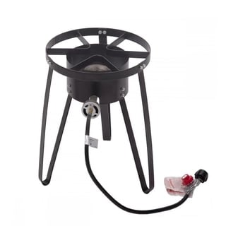 High Pressure Outdoor Propane Cooker Single Burner Camp Stove