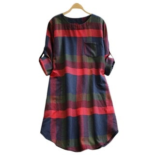 Cupshe Women's Plaid Dress