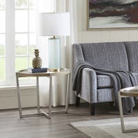 Madison Park Soni Grey End Table