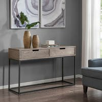 Madison Park Becca Brown/Slate Console Table